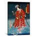 iCanvasArt Japanese Art 'Sawamura Tanosuke Iii' by Kunisada (Toyokuni) Painting Print on Canvas