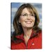 <strong>iCanvasArt</strong> Political Sarah Palin Portrait Photographic Print on Canvas