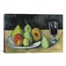 <strong>iCanvasArt</strong> 'Verre Et Poires 1879-1880' by Paul Cezanne Painting Print on Canvas