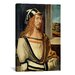 <strong>iCanvasArt</strong> 'Self-portrait' by Albrecht Dürer Painting Print on Canvas