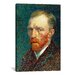 <strong>'Self Portrait, 1887' by Vincent Van Gogh Painting Print on Canvas</strong> by iCanvasArt