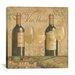 "iCanvasArt ""Vineyard Flavor I"" Canvas Wall Art by Daphne Brissonnet"