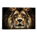 <strong>The Lion from SD Smart Painting Print on Canvas</strong> by iCanvasArt