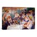 <strong>iCanvasArt</strong> 'The Luncheon of the Boating Party 1881' by Pierre-Auguste Renoir Painting Print on Canvas