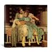 "iCanvasArt ""The Music Lesson"" Canvas Wall Art by Frederick Leighton"