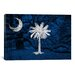 iCanvasArt Flags South Carolina Graphic Art on Canvas