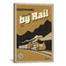 <strong>iCanvasArt</strong> 'Travel by Rail' by Anderson Design Group Vintage Advertisement on Canvas