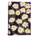 "<strong>iCanvasArt</strong> ""Shasta Daisies"" Canvas Wall Art by Mary Russell"