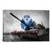 <strong>Flags Army Abrams Tank Graphic Art on Canvas</strong> by iCanvasArt