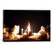 <strong>iCanvasArt</strong> Space Shuttle Endeavour Launch Canvas Wall Art