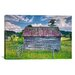 iCanvasArt 'Small Barn' by Bob Rouse Painting Print on Canvas