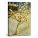<strong>iCanvasArt</strong> 'Small Pear Tree in Blossom' by Vincent Van Gogh Painting Print on Canvas