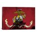 <strong>Flags U.S. Marine Iwo Jimo War Memorial Grunge Graphic Art on Canvas</strong> by iCanvasArt