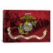 <strong>iCanvasArt</strong> Flags U.S. Marine Modern Soldiers Graphic Art on Canvas