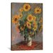 <strong>iCanvasArt</strong> 'Sunflowers 1889' by Vincent Van Gogh Painting Print on Canvas