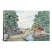"<strong>iCanvasArt</strong> ""Summertime: Morris Canal"" Canvas Wall Art by Stanton Manolakas"