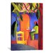 <strong>'Turkish Café' by August Macke Painting Print on Canvas</strong> by iCanvasArt