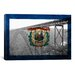 iCanvasArt Flags West Virginia New River Gorge Bridge Graphic Art on Canvas