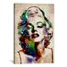 iCanvasArt 'Watercolor Marilyn Monroe' by Michael Tompsett Graphic Art on Canvas