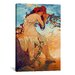 <strong>iCanvasArt</strong> 'Summer' by Alphonse Mucha Painting Print on Canvas