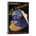 <strong>Summer in New England (The New Heaven Railroad) Vintage Advertiseme...</strong> by iCanvasArt