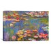 <strong>'Water Lilies, 1916' by Claude Monet Painting Print on Canvas</strong> by iCanvasArt