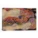 iCanvasArt 'Water Serpents II 1907' by Gustav Klimt Painting Print on Canvas