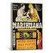 <strong>Marihuana: Weed with Roots In Hell Vintage Poster Canvas Print Wall...</strong> by iCanvasArt