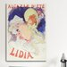 <strong>'Cafe Alcazar 'lidia'' by Jules Cheret Vintage Advertisement on Canvas</strong> by iCanvasArt