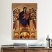 iCanvasArt 'Madonna of the Holy Trinity' by Cimabue Painting Print on Canvas