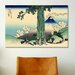 iCanvasArt 'Mishima Pass in Kai Province' by Katsushika Hokusai Painting Print on Canvas