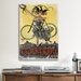 <strong>iCanvasArt</strong> Cycles Celement Paris Vintage Advertisement on Canvas