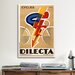 <strong>Cycles Dilecta Vintage Advertisement on Canvas</strong> by iCanvasArt