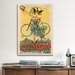 <strong>iCanvasArt</strong> Cycles Clement Paris Vintage Advertisement on Canvas