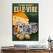 <strong>Elle and Vire Vintage Advertisement on Canvas</strong> by iCanvasArt