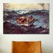 iCanvasArt 'Gulf Stream' by Winslow Homer Painting Print on Canvas