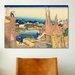 iCanvasArt 'Honjo Tatekawa, the Timberyard at Honjo' by Katsushika Hokusai Painting Print on Canvas