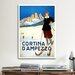 <strong>Cortina D'Ampezzo Vintage Advertisement on Canvas</strong> by iCanvasArt