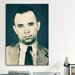 <strong>iCanvasArt</strong> Mugshot John Dillinger (1903-1934) - Gangster Photographic Print on Canvas