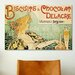 <strong>iCanvasArt</strong> 'Delacre Biscuits & Chocolat' by Privat Livemont Vintage Advertisement on Canvas