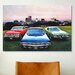 <strong>iCanvasArt</strong> Cars and Motorcycles Dodge Monaco, Charger, Dart Photographic Print on Canvas