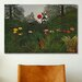 iCanvasArt 'Jungle Sunset' by Henri Rousseau Painting Print on Canvas