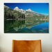 <strong>iCanvasArt</strong> 'Grand Teton 06' by Gordon Semmens Photographic Print on Canvas