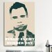 <strong>iCanvasArt</strong> Mugshot John Dillinger (1903-1934) - Blurry Look; Public Enemy Number 1 - Gangster Graphic Art on Canvas