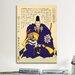 <strong>Japanese Art 'Asakura' by Utagawa Kuniyoshi Painting Print on Canvas</strong> by iCanvasArt