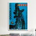 <strong>iCanvasArt</strong> Godzilla Kontra Gigan Vintage Advertisement on Canvas