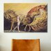 <strong>iCanvasArt</strong> 'God Judging Adam' by William Blake Painting Print on Canvas