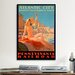 <strong>Atlantic City Bathing Pa Line Vintage Advertisement on Canvas</strong> by iCanvasArt