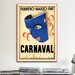 <strong>Carnaval en la Habana Vintage Advertisement on Canvas</strong> by iCanvasArt