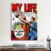 iCanvasArt My Husband was a Gambler (My Life Comic Book) Vintage Advertisement on Canvas
